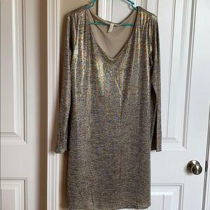 NWOT PinkBlush Shimmer Dress